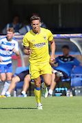 AFC Wimbledon midfielder David Fitzpatrick (19) during the Pre-Season Friendly match between AFC Wimbledon and Reading at the Cherry Red Records Stadium, Kingston, England on 23 July 2016. Photo by Stuart Butcher.