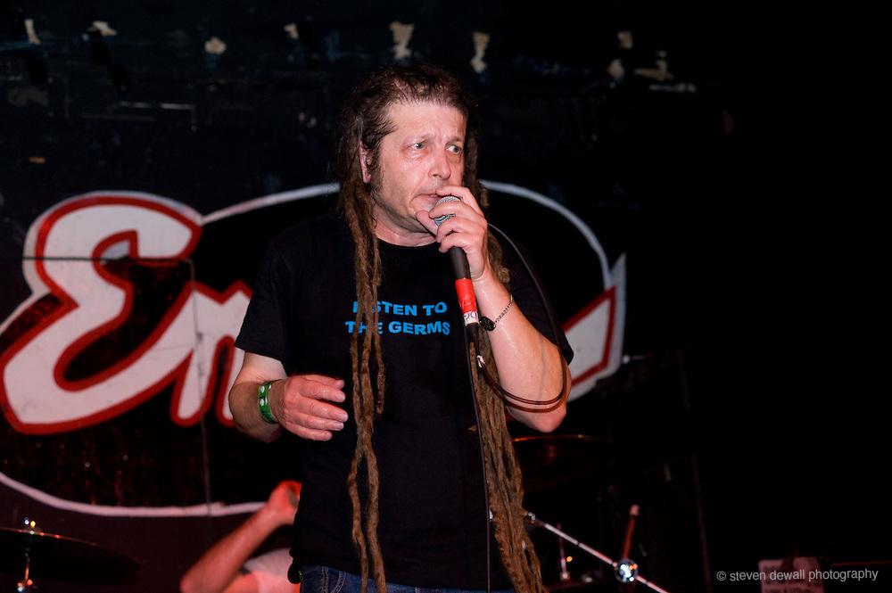 Keith Morris of the Circle Jerks performs @ the SXSW Music Festival, Austin, Texas