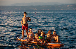 Family Cencic, on August 15, 2020 in Izola, Slovenia. Photo by Vid Ponikvar / Sportida