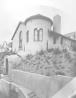 1925 Swimming pool entrance at 1847 Camino Palmero