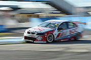 Team BOC's Jason Bright in action during  Race 5 of the ITM 400 Hamilton,Hamilton Street Circuit, Day Two, Hamilton City ,V8 supercars,, Photo: Dion Mellow / photosport.co.nz
