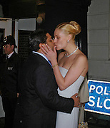 Angad Paul and Michelle Bonn,. Wedding reception of Angad Paul and Michelle Bonn, Lancaster House. St. James. 21 March 2005. ONE TIME USE ONLY - DO NOT ARCHIVE  © Copyright Photograph by Dafydd Jones 66 Stockwell Park Rd. London SW9 0DA Tel 020 7733 0108 www.dafjones.com