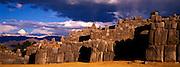 PERU, HIGHLANDS, CUZCO Sacsayhuaman; Inca fortress