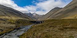 THEMENBILD - Wasserfall im porgeirsstaoadalur, aufgenommen am 09. Juni 2019 in Island // Waterfall in the porgeirsstaoadalur, Iceland on 2019/06/10. EXPA Pictures © 2019, PhotoCredit: EXPA/ Peter Rinderer