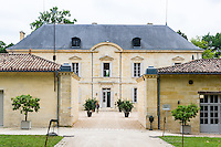 France, Saint-Émilion. Chateau Siaurac vineyard.