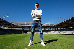 Portrait of Zlatko Dedic, Slovenian football player of FC Wacker Innsbruck, on September 27, 2018 in Stadion Tivoli Neu, Innsbruck, Austria.  Photo by Vid Ponikvar / Sportida