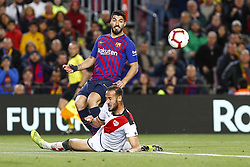 March 9, 2019 - Barcelona, Catalonia, Spain - FC Barcelona forward Luis Suarez (9) during the match FC Barcelona v Rayo Vallecano, for the round 27 of La Liga played at Camp Nou  on 9th March 2019 in Barcelona, Spain. (Credit Image: © Mikel Trigueros/NurPhoto via ZUMA Press)