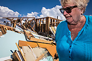 Linda Albercht, home in Mexico Beach, Florida  was destroyed by Hurricane Michael. She came to recover whatever belongings she could. <br /> Though she is in an x-zone, not requiring flood insuarnce, she has it.