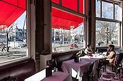 Switzerland, Zurich: Terrasse café. dada intellectuals meeting point