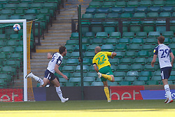 Scott Sinclair of Preston North End scores and celebrates to make it 0-1 - Mandatory by-line: Phil Chaplin/JMP - 19/09/2020 - FOOTBALL - Carrow Road - Norwich, England - Norwich City v Preston North End - Sky Bet Championship