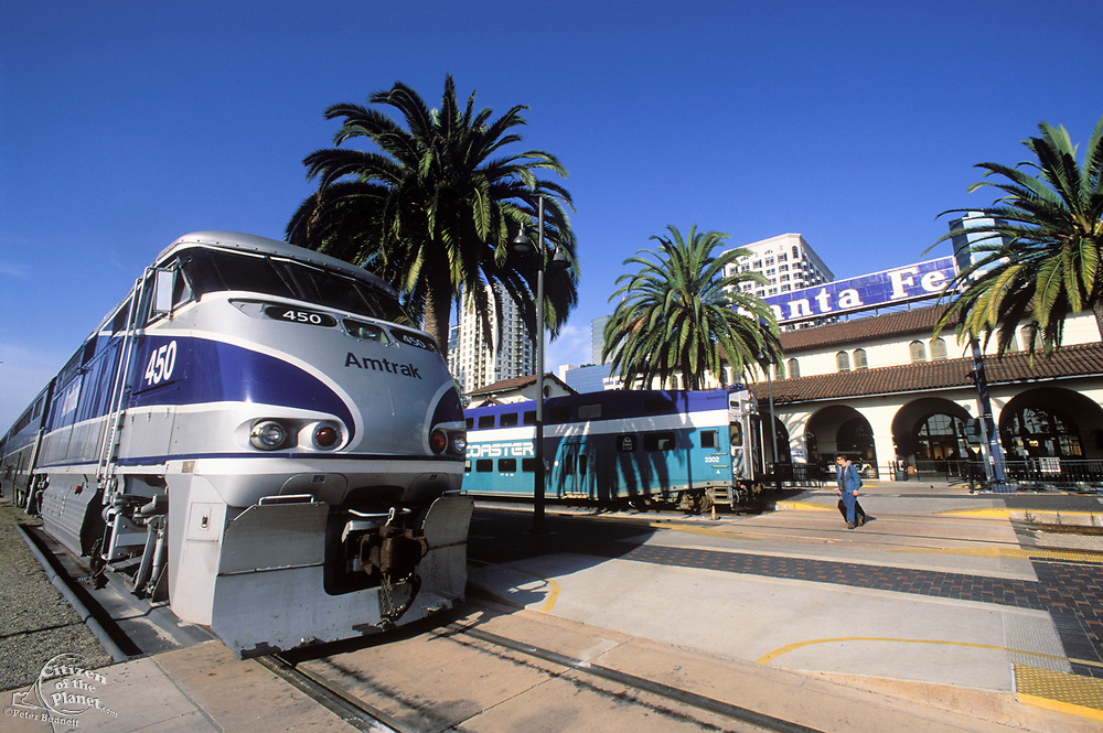 Santa Fe Depot, Downtown San Diego, California (SD)
