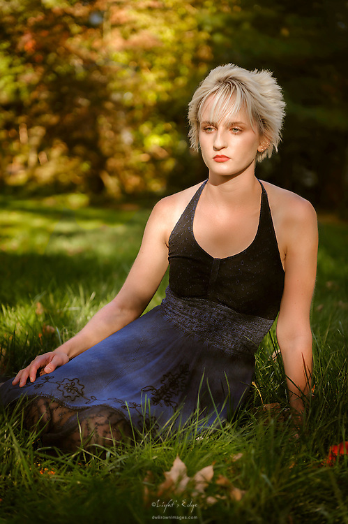 An image from a portrait session with Molly Fitzpatrick.