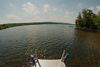Enjoying a perfect summer's day at Lake Waukewan in Meredith Friday, June 29, 2012.   (Karen Bobotas/for the Laconia Daily Sun)