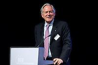 26 FEB 2009, BERLIN/GERMANY:<br /> Prof. Dr. Roland Berger, Vorsitzender des Aufsichtsrates Roland Berger Strategy Consultants, haelt eine Rede, Preisverleihung des Best of European Business Awards, Franzoesische Botschaft<br /> IMAGE: 20090226-02-033