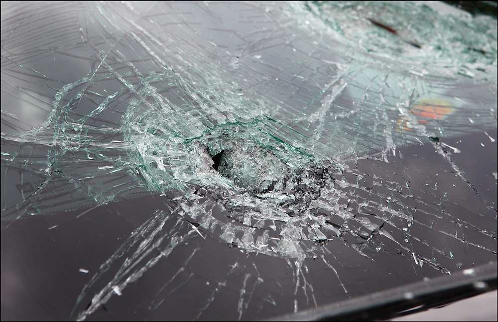 Dangerous baseball, softball sized hail destroyed car windows during a Severe Thunderstorm in Wylie, Texas.