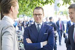 May 29, 2017 - Prince Daniel, crown prince Frederik.Official visit from Denmark, visiting Norrsken, Stockholm, 2017-05-29.(c) Ola Axman / IBL..Officiellt besök frÃ¥n Kronprinsparet av Danmark, besök, Norrsken, Stockholm, 2017-05-29 (Credit Image: © Ola Axman/IBL via ZUMA Press)