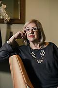 Shelly Porges, co-founder and managing partner for The Billion Dollar Fund for Women at her home in Washington, D.C.