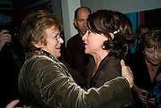 JULIE WALTERS; MATHEW LLOYD; SALLY ANNE TRIPPET. The Actors Centre's 30th Birthday Party. 1a Tower St, Covent Garden. London. 2nd November<br /> *** Local Caption *** -DO NOT ARCHIVE -Copyright Photograph by Dafydd Jones. 248 Clapham Rd. London SW9 0PZ. Tel 0207 820 0771. www.dafjones.com