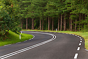 Provincial road where there is a maximum speed of 80km/h.