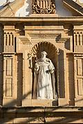 Religious sculpture of saint, Ronda, Andalusia, Spain