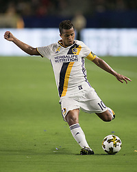 September 16, 2017 - Carson, California, U.S - Giovani dos Santos #10 of the L.A. Galaxy with the ball during their game with Toronto FC on Saturday September 16, 2017 at StubHub Center in Carson, California. L.A. Galaxy loses to Toronto FC, 4-0. (Credit Image: © Prensa Internacional via ZUMA Wire)