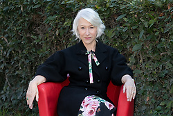 Helen Mirren attends a photocall for La vedova Winchester in Rome
