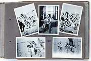 happy family moments photo album page 1949 England