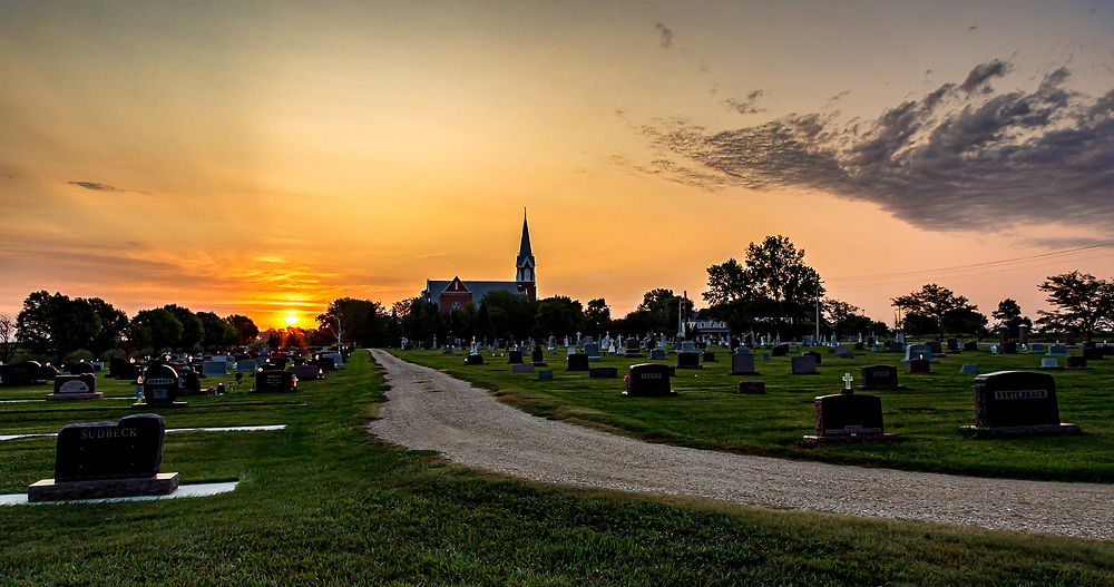 SS Peter & Paul Catholic Church, Dimock, South Dakota. Photo taken September 9, 2017.