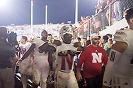 De'Mornay Pierson-El #15 of the Nebraska Cornhuskers starts to remove his jersey after heading towards the locker room following Nebraska's game 24-13 win over Northwestern at Ryan Field in Evanston, Ill. on Sept. 24, 2016. Photo by Aaron Babcock, Hail Varsity