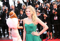 Lily Donaldson at the Cosmopolis gala screening at the 65th Cannes Film Festival France. Cosmopolis is directed by David Cronenberg and based on the book by writer Don Dellilo.  Friday 25th May 2012 in Cannes Film Festival, France.