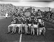 17/03/1958<br /> 03/17/1958<br /> 17 March 1958<br /> Soccer: League of Ireland v Irish League at Dalymount Park, Dublin. The League of Ireland team.