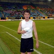 NLD/Arnhem/20051211 - Voetbal, RTL artiestenelftal - Oud Vitesse, Sebastiaan Labrie