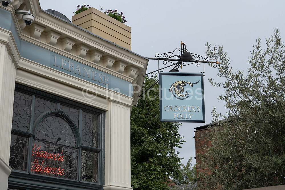 Crockers Folly pub on the 7th October 2019 in London in the United Kingdom