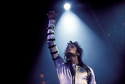 """Michael Jackson - Cleveland 1988<br /> The """"Bad"""" tour sold out both shows at the Cleveland Coliseum for a total of 40,000 tickets. The tour was billed as his last live performance tour."""