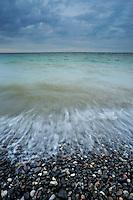 Baltic Sea at Djævlekløften - Møns Klint, Denmark