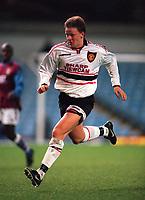 Fotball<br /> Foto: Colorsport/Digitalsport<br /> NORWAY ONLY<br /> <br /> Erik Nevland (Manchester United) Aston Villa reserves v Manchester United reserves