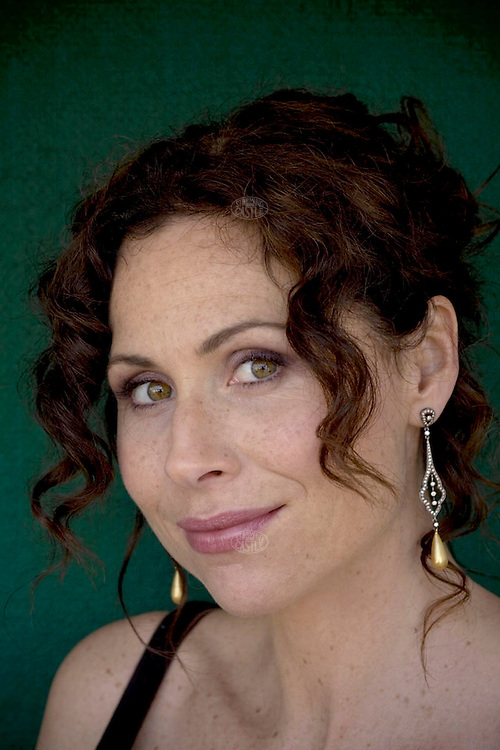 "Photo ©2008 Tom Wagner,  ©Tom Wagner 2008, all rights reserved, all moral rights asserted..Portrait of Minnie Driver, star of the hit US program The Riches, she plays Dahlia Malloy, as well as film actor and musician (she has released two well received albums-""Everything I've Got In My Pocket,"" her first album, and ""Seastories,"" her second album.)"