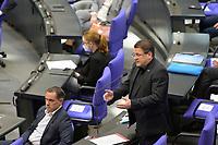 DEU, Deutschland, Germany, Berlin, 24.02.2021: Stephan Brandner (AfD) bei der Fragestunde in der Plenarsitzung im Deutschen Bundestag.