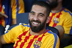 August 20, 2017 - Barcelona, Catalonia, Spain - Arda Turan during La Liga match between F.C. Barcelona v Real Betis Balompie, in Barcelona, on August 20, 2017. hoto: Joan Valls/Urbanandsport/Nurphoto  (Credit Image: © Joan Valls/NurPhoto via ZUMA Press)