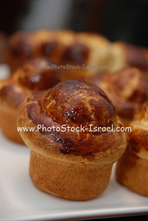 Close up of an assortment of pastries. Selective focus