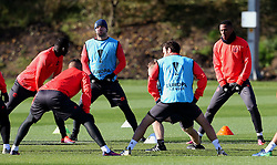 Luke Shaw of Manchester United  - Mandatory by-line: Matt McNulty/JMP - 19/10/2016 - FOOTBALL - Manchester United - Training session ahead of Europa League game against Fenerbahce