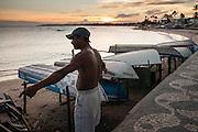 SALVADOR, BRASIL - 21/02/2008 - Beach of Salvador de Bahia. PHOTO<br /> © Christophe Vander Eecken