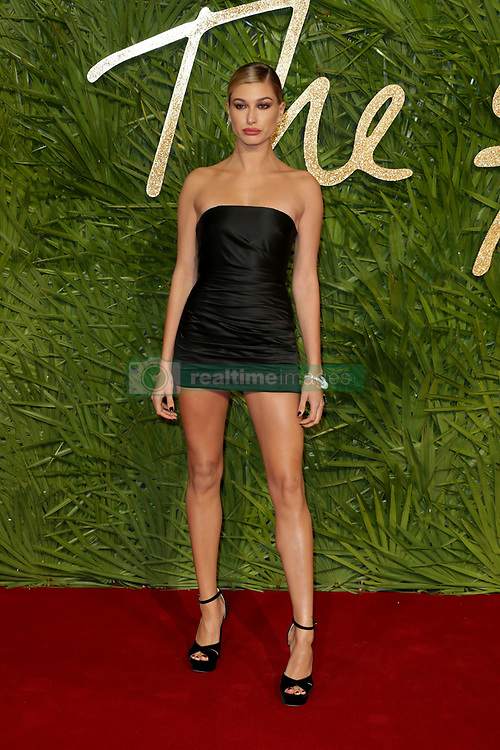 at the the Fashion Awards 2017 at the Royal Albert Hall in London, UK. 04 Dec 2017 Pictured: Hailey Baldwin. Photo credit: MEGA TheMegaAgency.com +1 888 505 6342
