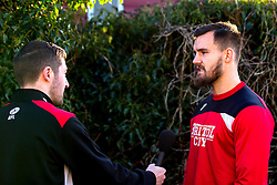 New Bristol City signing Bailey Wright is interviewed by Bristol City's media team - Mandatory by-line: Robbie Stephenson/JMP - 05/01/2017 - FOOTBALL - Bristol City Training Ground - Bristol, England - Bristol City New Signing