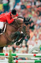 Le Jeune Philippe, BEL, Nabab de Reve<br /> CHIO Aachen 2001<br /> © Hippo Foto - Dirk Caremans<br /> 15/06/2001