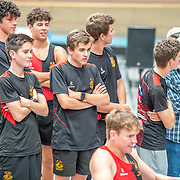 4:30 PM- Grassroots Trust #41 Heat 2- Men?s 500m U17<br /> <br /> NZ Indoor Champs, raced at Avanti Drome, Cambridge, New Zealand, Saturday 23rd November 2019 © Copyright Steve McArthur / @rowingcelebration www.rowingcelebration.com