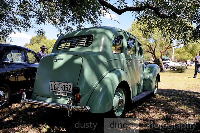 Ford Prefect, 2011 Classic Car Show, Whiteman Park, Perth, Western Australia. March 20, 2011