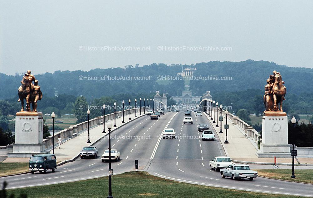 CS-BH62. Arlington Memorial Bridge, Washington DC, July 1969