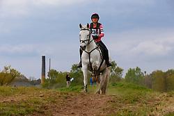 Van Dijck Louise, BEL, Gasmann 'B' van het Juxschot<br /> Nationale LRV-Eventingkampioenschappen Minderhout 2017<br /> © Hippo Foto - Kris Van Steen<br /> 29/04/17