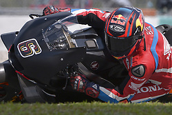 February 7, 2019 - Sepang, Malaysia - Repsol Honda Team's test rider Stefan Bradl of Germany  takes a corner during the second day of the 2019 MotoGP pre-season testing at Sepang International Circuit February 7, 2019. (Credit Image: © Zahim Mohd/NurPhoto via ZUMA Press)